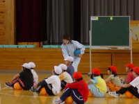 北五小学校教育研究会秋季研修会体育部会授業