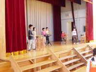 学習発表会の練習