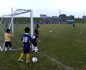 サッカー試合その1