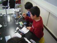 水溶液の実験