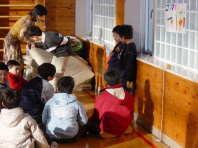 児童集会での発表