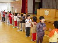 児童集会(1年生)